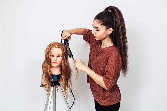 Główki fryzjerskie